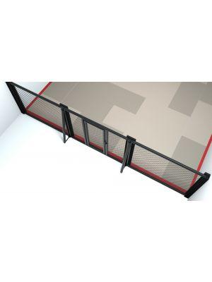 Dojo Cage diagonal support