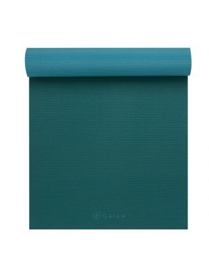 Gaiam 2-Color Turquoise Sea Yoga Mat