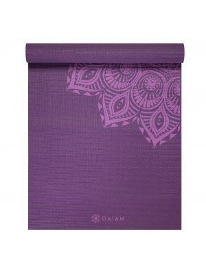 Gaiam Purple Mandala Premium Yoga mat