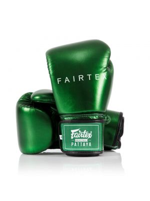 Fairtex BGV22 Metallic Green boksa cimdi