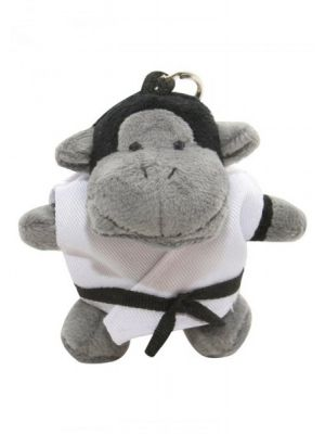 DAX key chain stuffed animal
