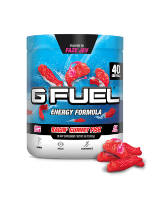 G Fuel Energy enerģijas dzēriens - Ragin´ Gummy Fish Tub