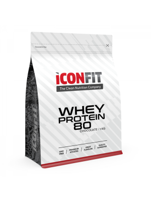 Iconfit Whey Protein 80 1kg Vaniļas