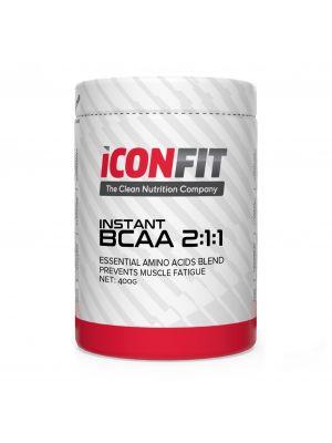 Iconfit BCAA 2:1:1 aminoskābju komplekss 400g Bezgaršas