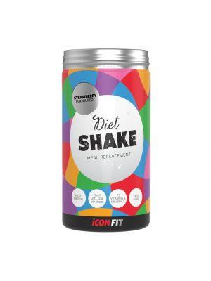 Iconfit Diet Shake diētiskie kokteiļi - ar apelsīnugaršu 715g