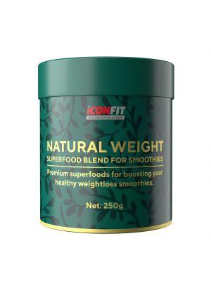 Iconfit Natural Weight - ar neapstrādātu kakao, smūtijiem 250g