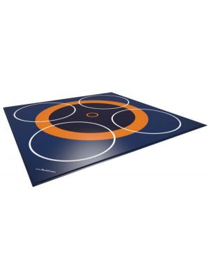 Dojo 3+4 zone cīņas paklājs PVC