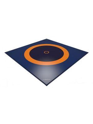 Dojo 8x8m 3-zone cīņas paklājs