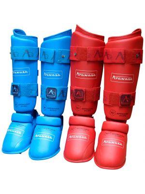 Arawaza WKF Approved karate Apakšstilbu Aizsargi