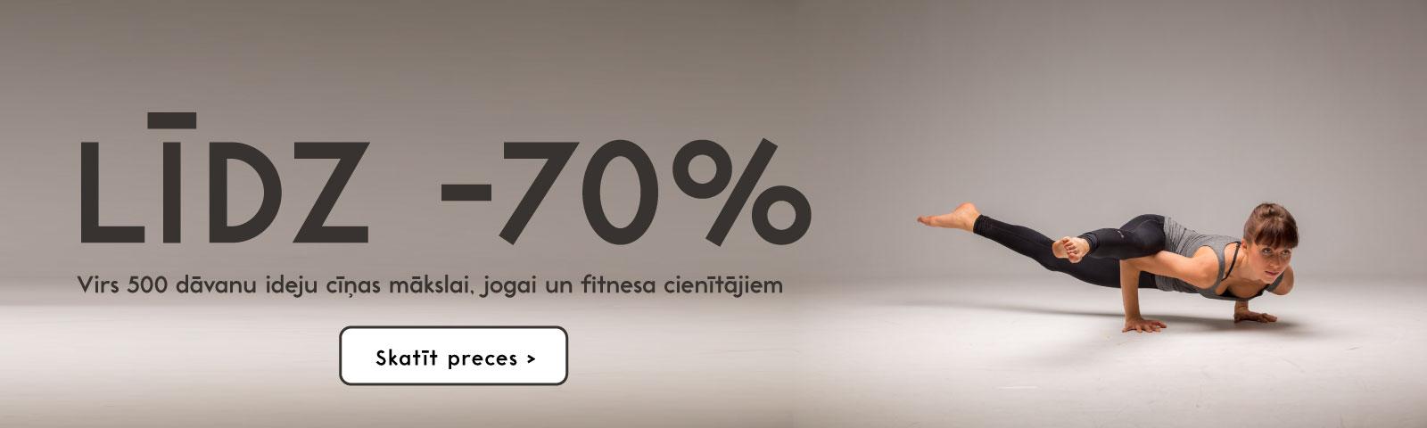 Līdz -70%